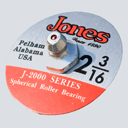 Jones Bearing Pillow Blocks