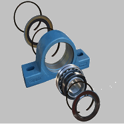 Jones Bearing-Flange